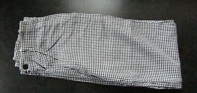 £8.50 • Buy Chef Pants / Trousers Blue & White Checker Size 94