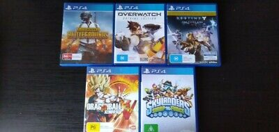 AU70 • Buy Bulk Video Games For PS4 Pubg,,overwatch,destiny,Dragonball Z, And Skylanders.
