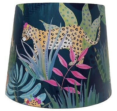 Jungle Animals Lampshade Light Shade Kids Bedroom Nursery Accessories Gift Girls • 26.99£