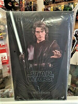 $ CDN1134.98 • Buy Hot Toys MMS 437 Star Wars III Revenge Of The Sith Anakin Skywalker Brown Box