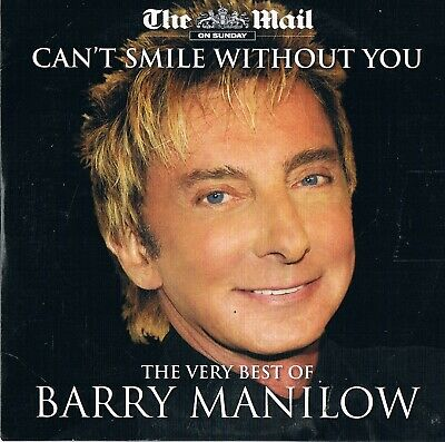 Barry Manilow - Cant Smile Without You - Music CD N/Paper • 1.50£