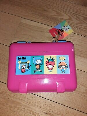 Paperchase Girls Pink Carry Case/ Lunch Bag Brand New  • 3.99£