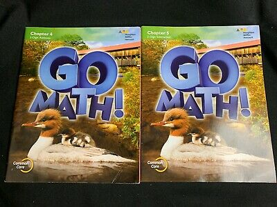 $ CDN17.16 • Buy 2nd Grade 2 Go Math Student Edition 2015 Chapter 4 & 5 Workbooks Consumables