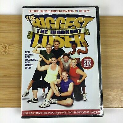 The Biggest Loser ~ The Workout / DVD 2005 / Trainer Bob Harper Exercise Fitness • 8.65£