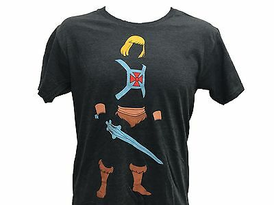 $9.99 • Buy He-Man And The Masters Of The Universe He-Man Silouette Outline Men's T Shirt