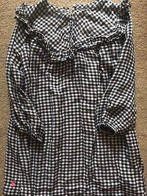 Joules Girls Dress Check Age 6yrs • 4.99£