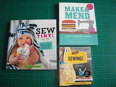 Sewing Books X3 • 3.99£