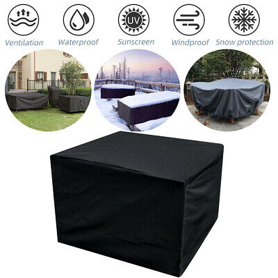 Waterproof Garden Outdoor Patio Furniture Set Rattan Cube Square Cover Protector • 12.52£