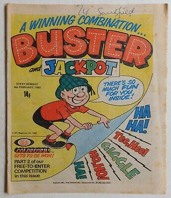 BUSTER COMIC - 6th February 1982 • 2.99£