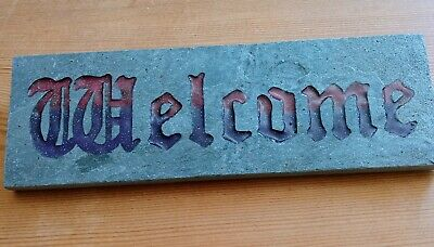 Witches Of Pendle  Welcome  Wall Plaque Slate NEW • 9.99£