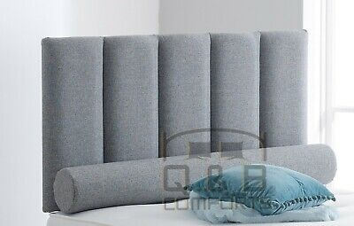 Five Panel Headboard In Chenille 20   3ft 4ft 4ft6 5ft  • 38.99£