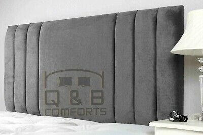Plush Velvet Sole Headboard  3ft 4ft 4ft6 5ft  • 41.99£