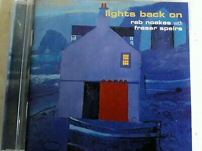 £4.98 • Buy Rab Noakes With Fraser Speirs Lights Back On Cd New Sealed Free Uk Post