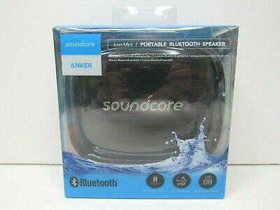 AU37.87 • Buy Anker Soundcore Icon Mini Portable Waterproof Black Bluetooth Speaker Sound NEW