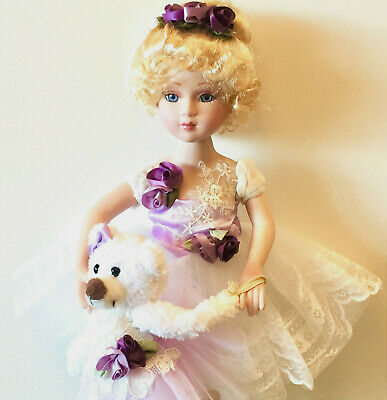 $ CDN66.30 • Buy Victorian Porcelain Doll-Limited Edition Collectible Doll Princess Ballerina New