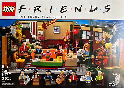 $29.95 • Buy LEGO Friends Central Perk BOX, ONLY THE BOX And BOOKLET!!! NO LEGO PIECES!!