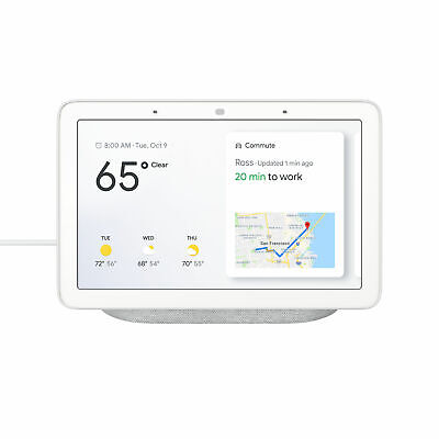 AU138.38 • Buy Google Nest Hub 7  Touch Smart Display & Home Assistant Chalk GA00516