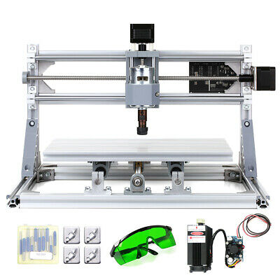 CNC3018 2in1 CNC Router Kit Laser Engraver Carving Machine GRBL Control 3 Axis • 130.98£
