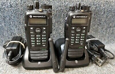 $527.77 • Buy Motorola XPR6550 UHF Digital DMR MotoTrbo Set Of 2 Radios 430-470 Refurbished