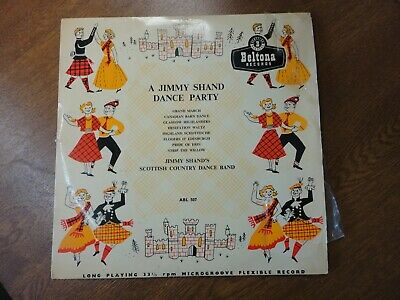 £5.95 • Buy A Jimmy Shand Dance Party - Scottish Country Dance Band - 10 Inch LP / 33 Rpm