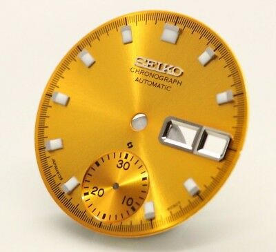 $ CDN69.12 • Buy Yellow Dial Vintage SEIKO Chronograph 6139,6139-6002/6005/6007/6001/6009 Pogue H