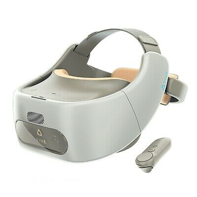 AU589.38 • Buy HTC Vive Focus White VR Virtual Reality 3K AMOLED Headset With Snapdragon