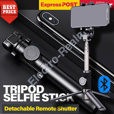 AU35.95 • Buy Tripod Stand Selfie Stick Handheld Bluetooth Monopod For IPhone 11 Pro Max  Xs