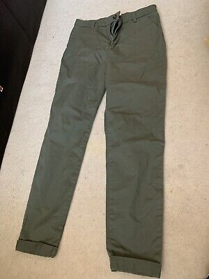 £6.75 • Buy H&m Girls Khaki Chinos Summer 10-11 Years Excellent Cond
