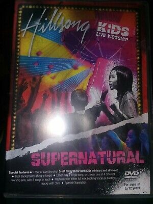 $4.99 • Buy DVD SUPERNATURAL By Hillsong Kids (DVD, 2007) Christian Live Worship A-8