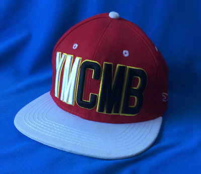 YMCMB Baseball Cap Red Adjustable Youth Mens Girls Ladies  • 15£