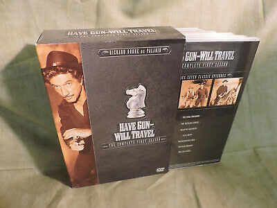 $9.99 • Buy Have Gun Will Travel - The Complete First Season (DVD, 2004, 6-Disc Set)