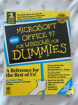 Microsoft Office 97: For Windows For Dummies: Paperback • 5.50£