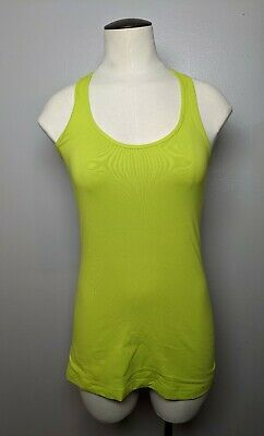 $ CDN22.50 • Buy Lululemon CRB Tank Size 4 Lime Green Reversible