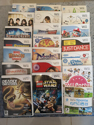 Nintendo Wii Games - Pick From Selection - Check Back Often For New Additions • 9£