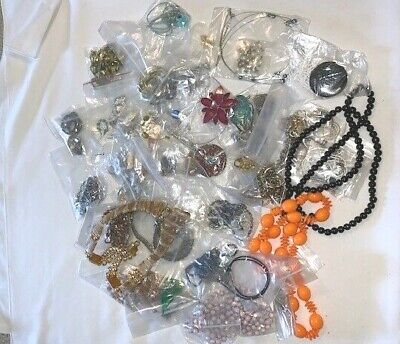 $ CDN5.99 • Buy Costume Jewellery LOT Of 50 NECKLACES Pendants Chains, Vintage Assorted Jewelry
