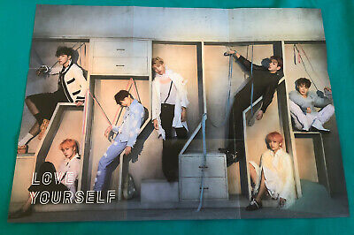$5 • Buy BTS Poster Love Yourself Answer Version E Folded