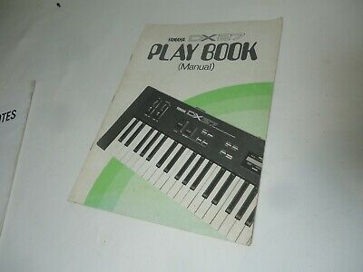 AU19.80 • Buy Yamaha Dx27 Synthesizer Keyboard Owners Manual Play Book User Guide