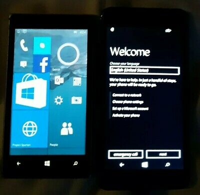 $ CDN48.99 • Buy RARE Prototype Nokia Lumia 925 Tmobile Microsoft Mobile Smartphone Lot Of 2