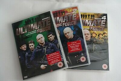 Ultimate Force - Series 1, 2 And 4 DVD's • 5£