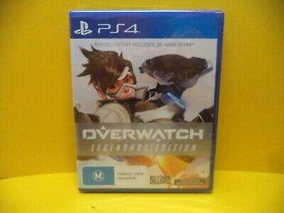 AU24.95 • Buy Sony Ps4 Overwatch Legendary Edition Game *still Sealed*