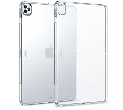 AU11.99 • Buy Clear Case For IPad Pro 11''/ 12.9 Inch 2020 Flexible Silicone Transparent Case
