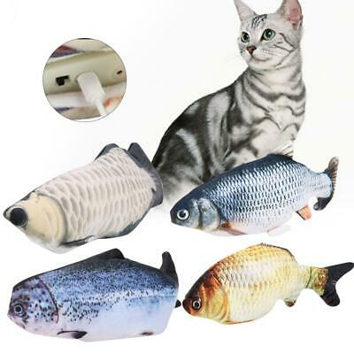 AU16.89 • Buy 12'' Fish Kicker Cat Toy Moving Fish Flopping Fish Dancing Fish Cat Toy Wagging