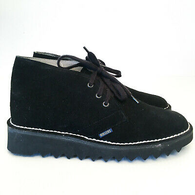 AU175 • Buy Rollers Ripple Sole Desert Boots-Suede Leather Original Vintage Size 7 H RARE!!