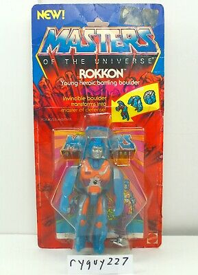 $75 • Buy MOTU, Rokkon, With Card, Masters Of The Universe, Figure, He Man, Compete