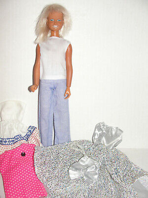 $19.99 • Buy Vintage Kenner Dusty Action Doll Freckles 1974  Original Clothing Some Handmade