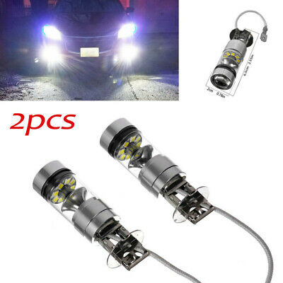AU12.99 • Buy 2*h3 Led 20-smd Xb-d Headlight Fog Driving Light Bulbs Car Lamp Globe Dc 12v-24v