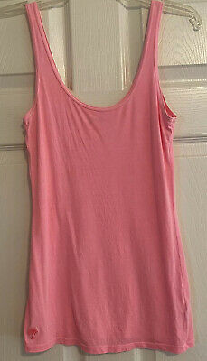 $15.99 • Buy Lilly Pulitzer Heather Tank Top Daiquiri Pink Cotton Soft Extra Small
