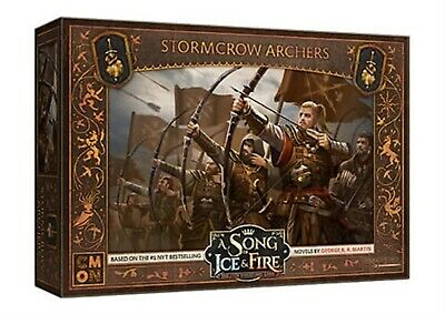 A Song Of Ice And Fire: Neutral Stormcrow Archers Cool Mini Or Not Brand New • 26.09£