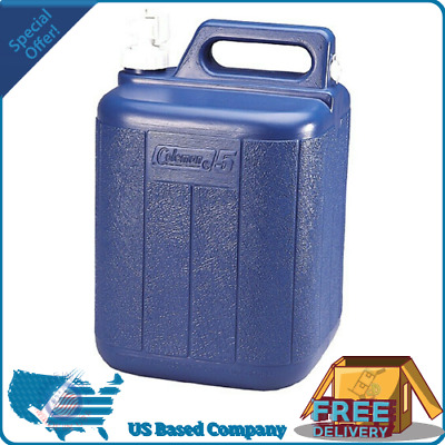 $23.69 • Buy Coleman Water Jug Container 5 Gallon Tote Home Camping Emergency Outdoor Hiking