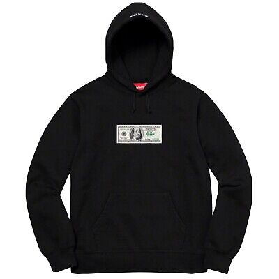 $ CDN273.60 • Buy Brand New Supreme Franklin Hoodie Hooded SS20 Black Large BNIB AUTHENTIC  💵